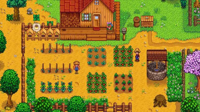 Stardew Valley Switch videogame