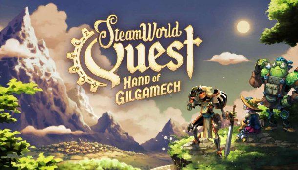 SteamWorld Quest Hand of Gilgamech Switch