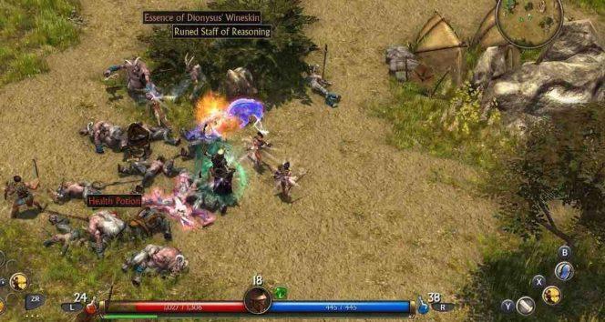 Titan Quest Switch videogame