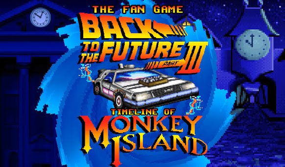 Back to the Future Part III Timeline of Monkey Island