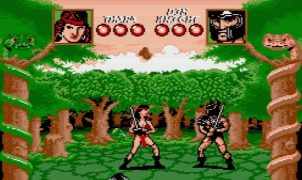 Barbarian The Duel MSX