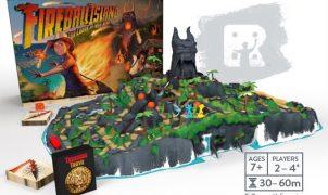 Fireball Island gioco da tavolo