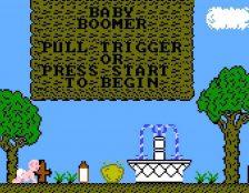 Baby Boomer NES videogame