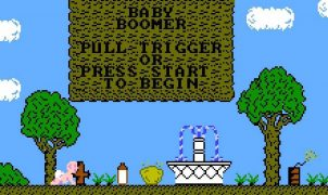 Baby Boomer NES videogame