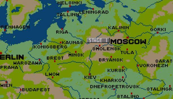 Barbarossa SNES videogame