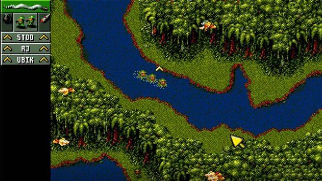 Cannon Fodder SNES videogame