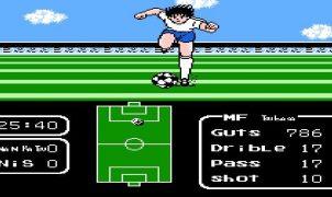 Captain Tsubasa NES videogame