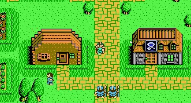 Chaos World NES videogame