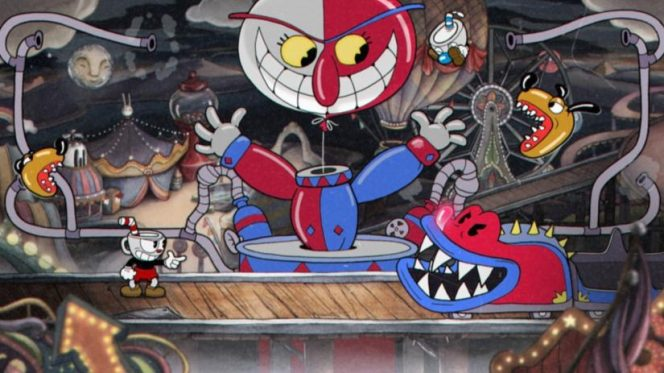 Cuphead Nintendo Switch videogame