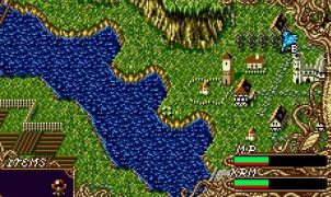 Dragon's Earth SNES videogame
