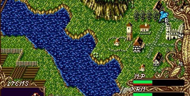 Dragon's Earth SNES videogame