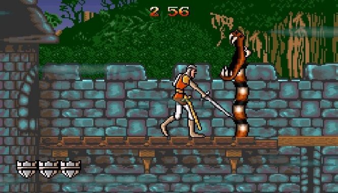 Dragon's Lair SNES videogame