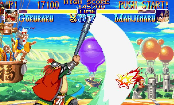 Kabuki Klash Neo Geo videogame