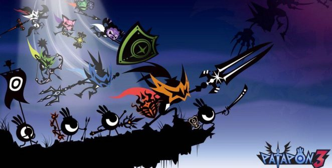 Patapon 3 PSP videogame