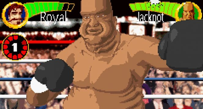 Boxing Fever GBA videogame
