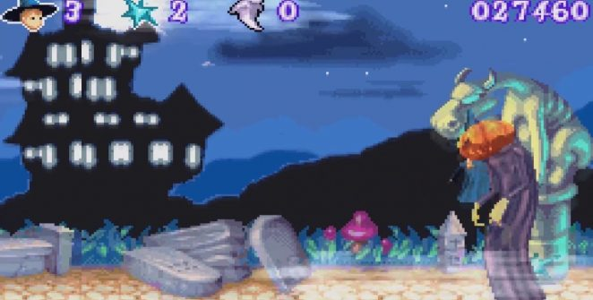 Castleween GBA videogame