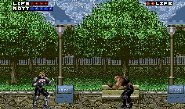Rent A Hero Mega Drive videogame