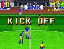 The Ultimate 11 Neo Geo videogame