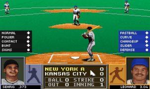 Tony La Russa Baseball Mega Drive videogame