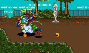 Toxic Crusaders Mega Drive videogame