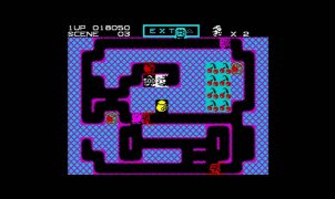 Mr. Do! ZX Spectrum videogame