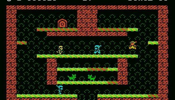 Night Knight MSX videogame