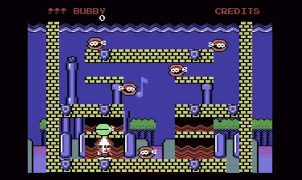 Parasol Stars C64 videogame