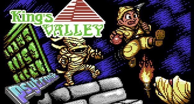 King's Valley C64