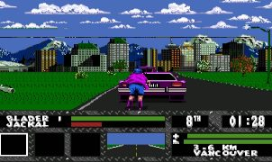 Skitchin Mega Drive videogame