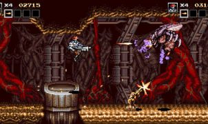 Blazing Chrome videogame
