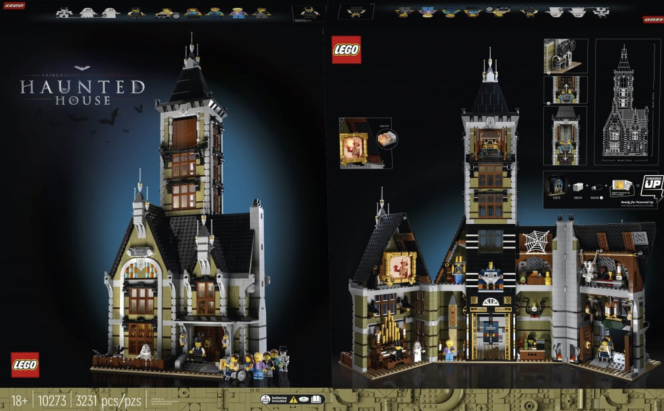 LEGO Haunted House 10273