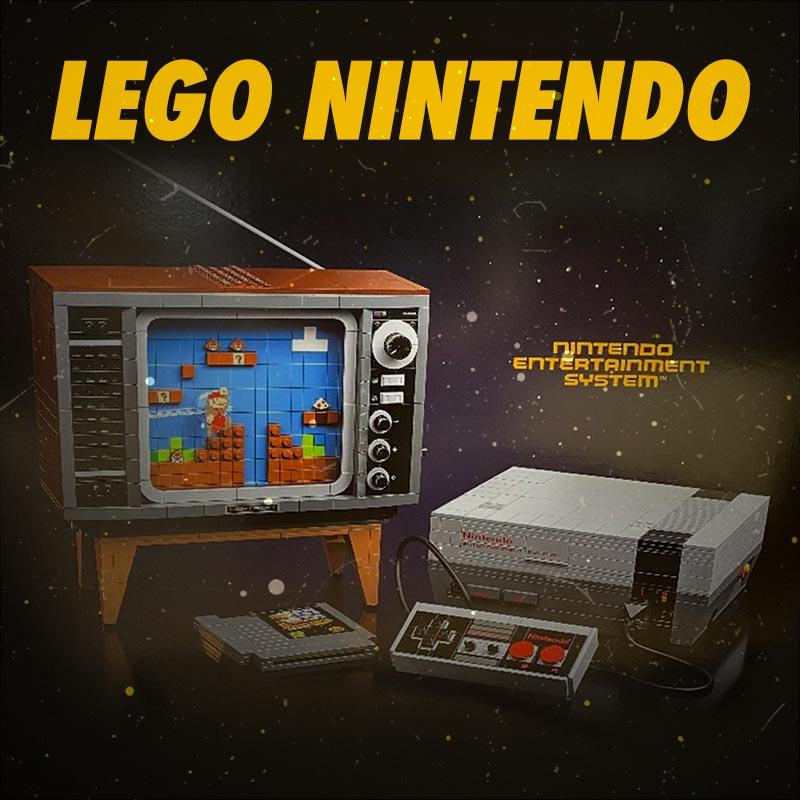 LEGO Nintendo Entertainment System Set